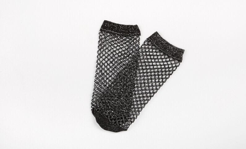 Chaussettes résille noir