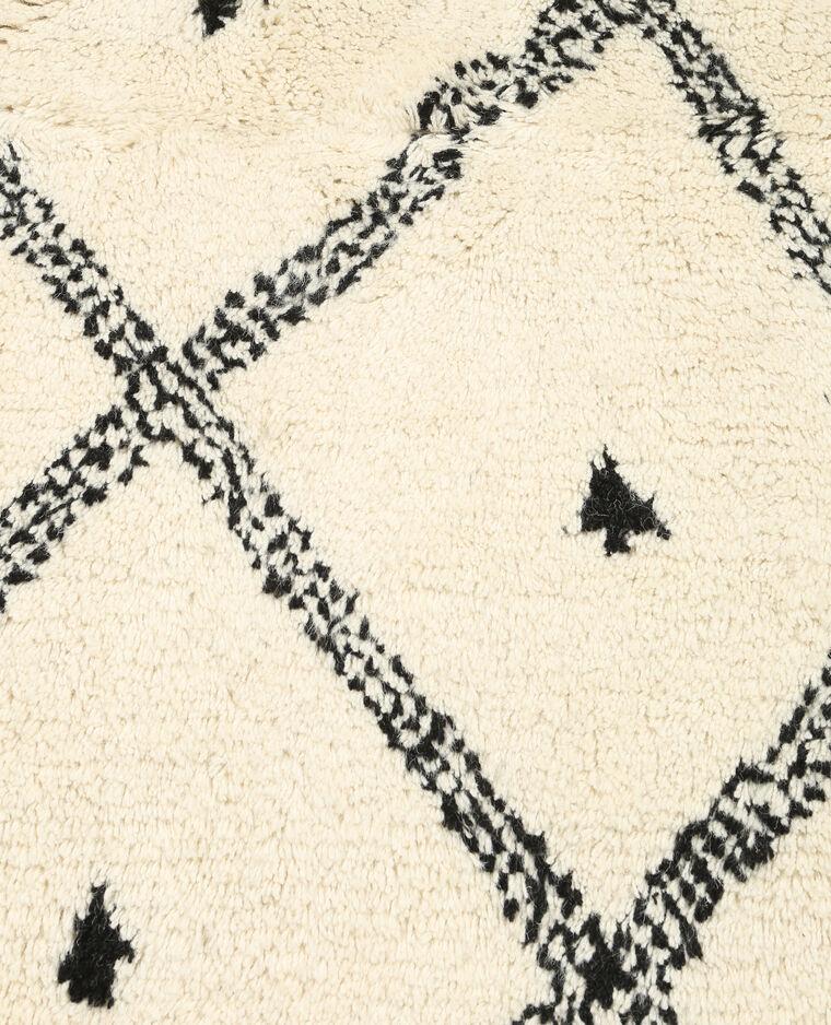 tapis berb re en laine blanc 907885901i48 pimkie. Black Bedroom Furniture Sets. Home Design Ideas