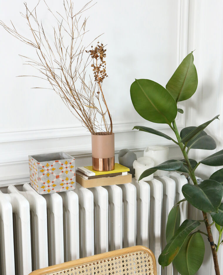 pot en carreaux de ciment jaune 904354a10i00 pimkie. Black Bedroom Furniture Sets. Home Design Ideas