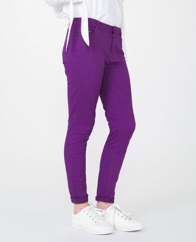 Push-up skinny violet