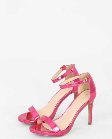 Sandales à talons aiguilles rose