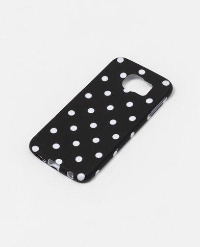 Coque souple compatible Samsung S6 noir