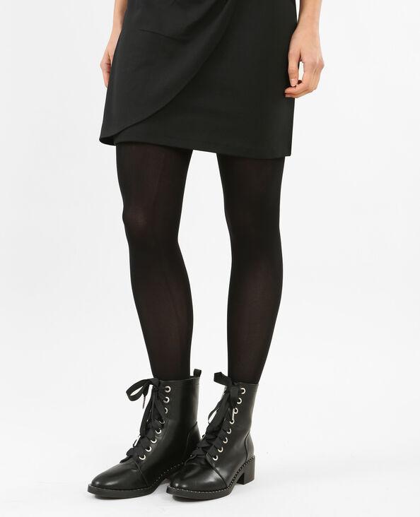 Collant opaque noir