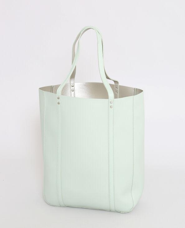 Shopper réversible vert