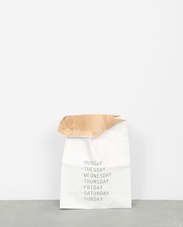Petit paper bag blanc