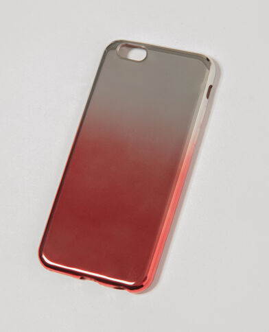 iPhone-hoesje in tie and dye-stijl rood