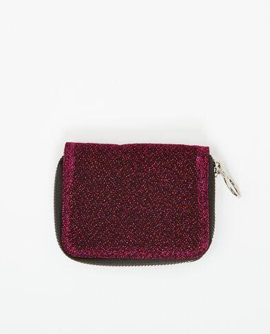 Portemonnee met glitters rood