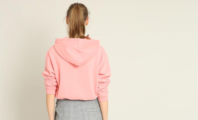 Basic sweater roze