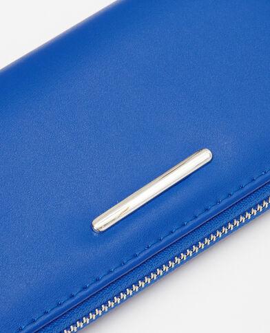 Lange portefeuille elektrisch blauw