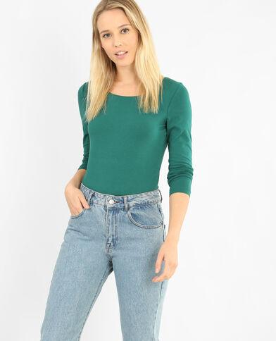 T-shirt met lange mouwen groen