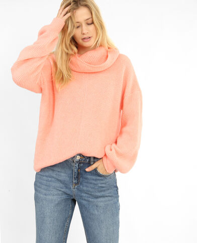 XL-trui roze