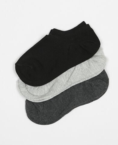 Lot de socquettes gris
