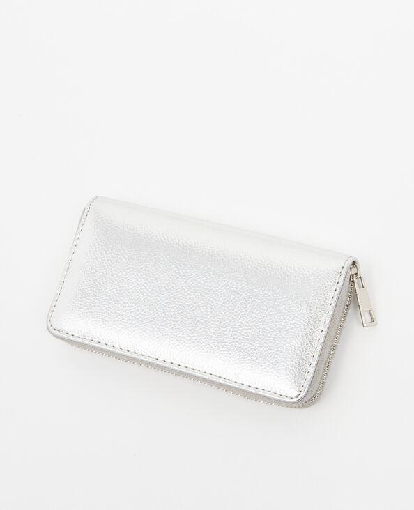Lange portefeuille grijs