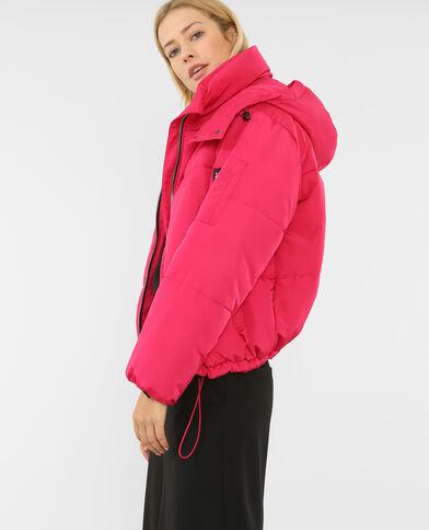 Oversized donsjas roze