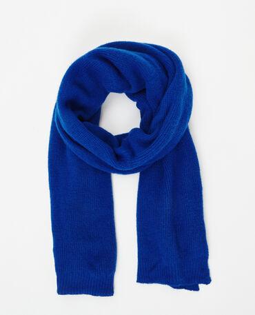 Echarpe chaude bleu