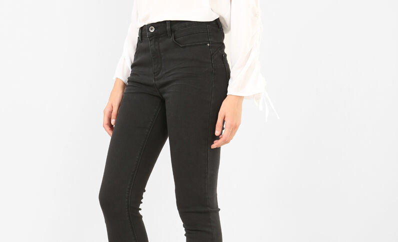 Pantalon skinny push up noir