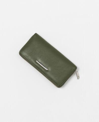 Lange portefeuille groen
