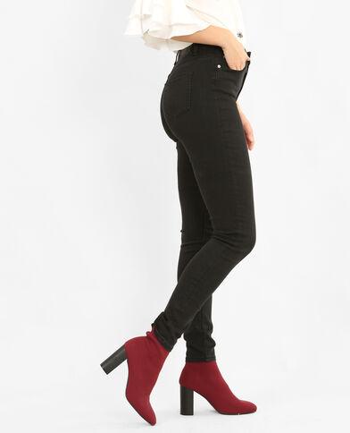 Skinny met hoge taille zwart