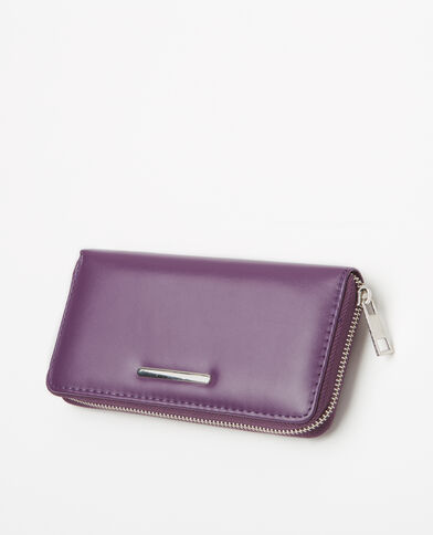 Lange portefeuille violet