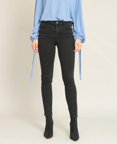 Push-up jeans zwart