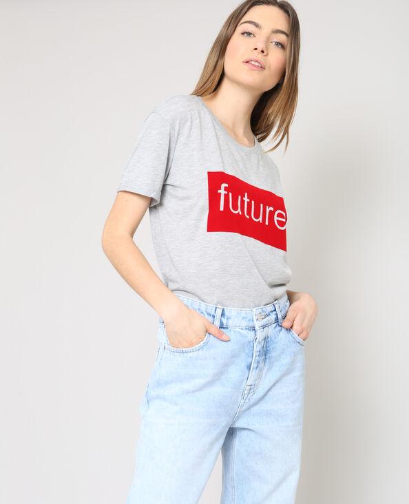 T-shirt FUTURE gris