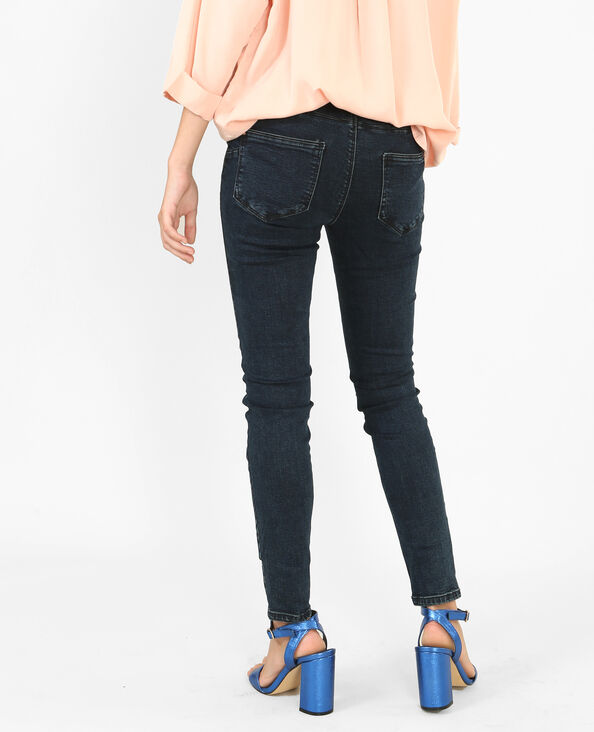 Skinny push-up jeans blauw