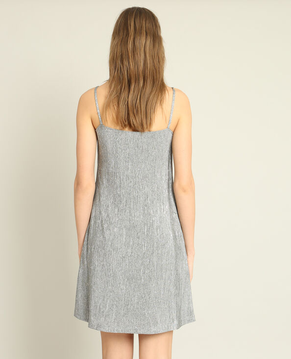 Robe texturée gris