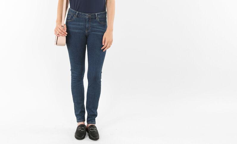 Jean skinny bleu foncé
