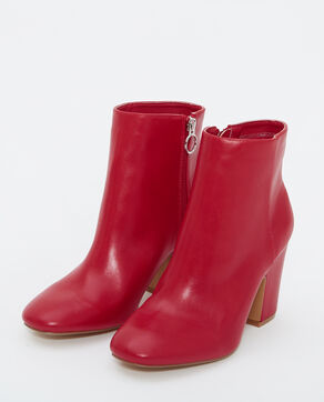 Bottines à talons rouge