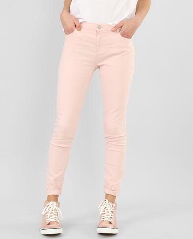 Slim broek Roze