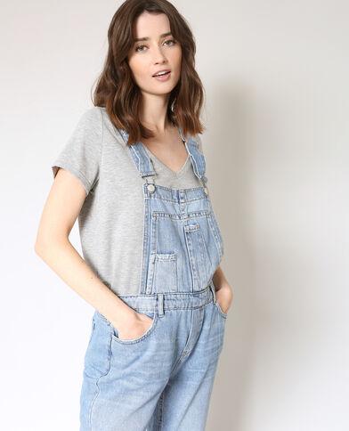 Tuinbroek van jeans denimblauw