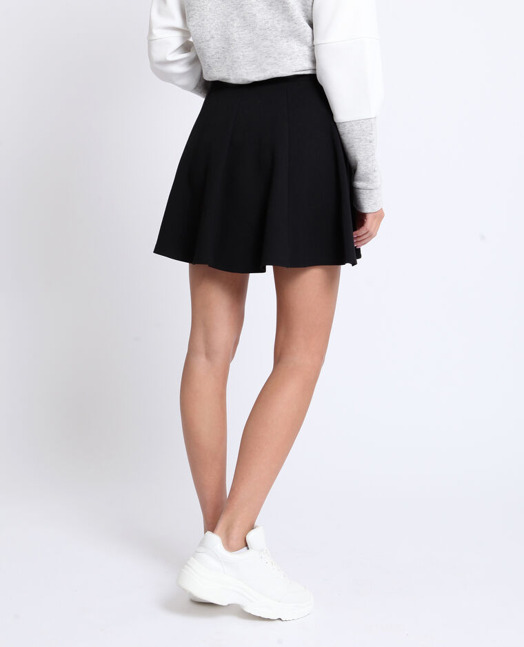 Skaterrok zwart