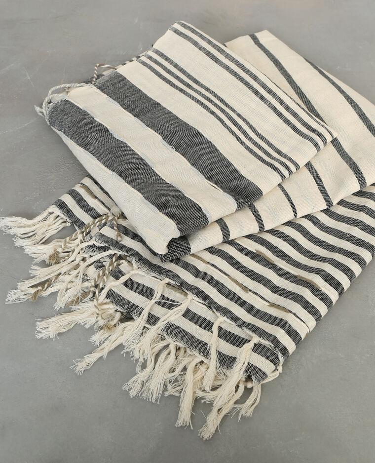 plaid en coton ray gris 955049765c48 pimkie. Black Bedroom Furniture Sets. Home Design Ideas