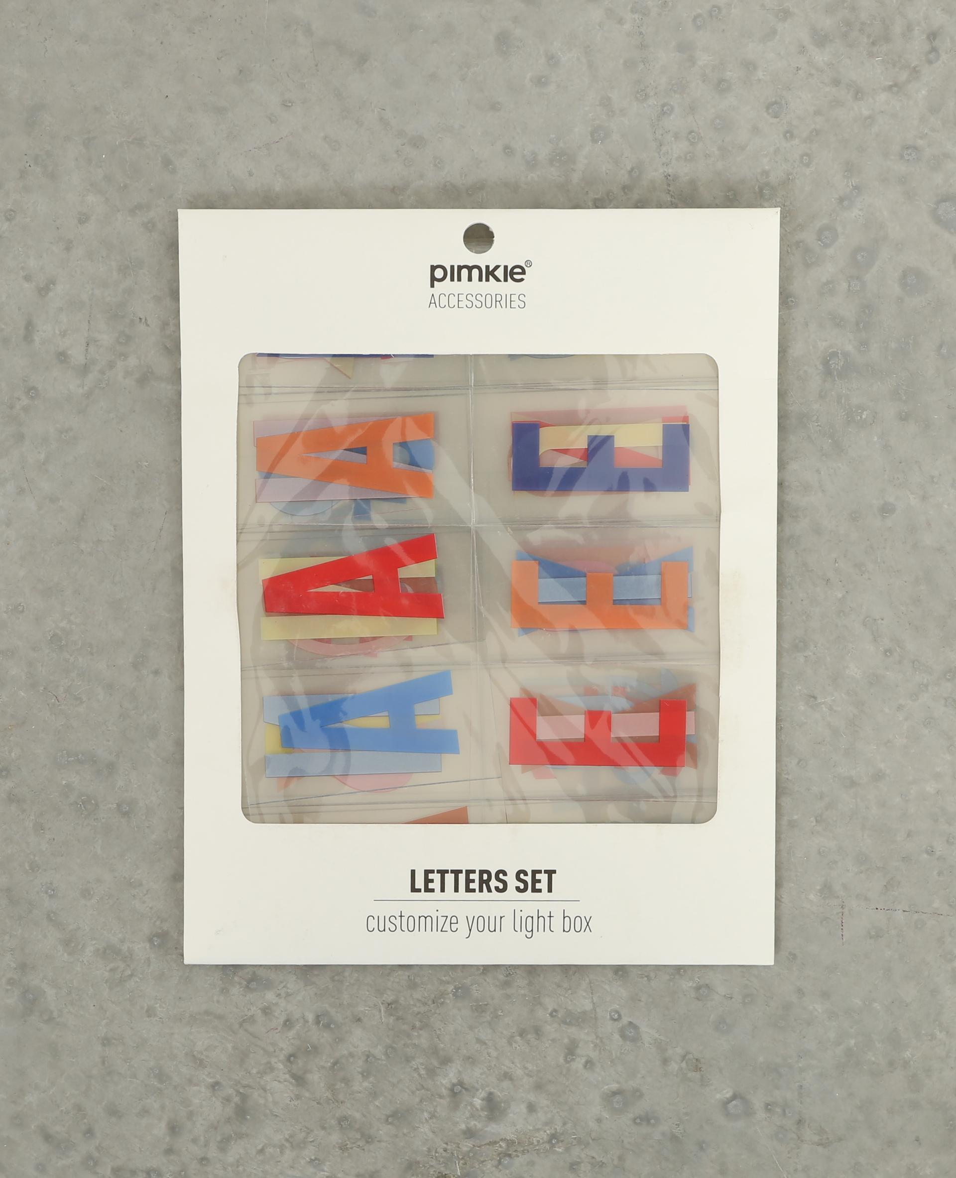 lettres color es pour lightbox caramel 907183a00a0a pimkie. Black Bedroom Furniture Sets. Home Design Ideas