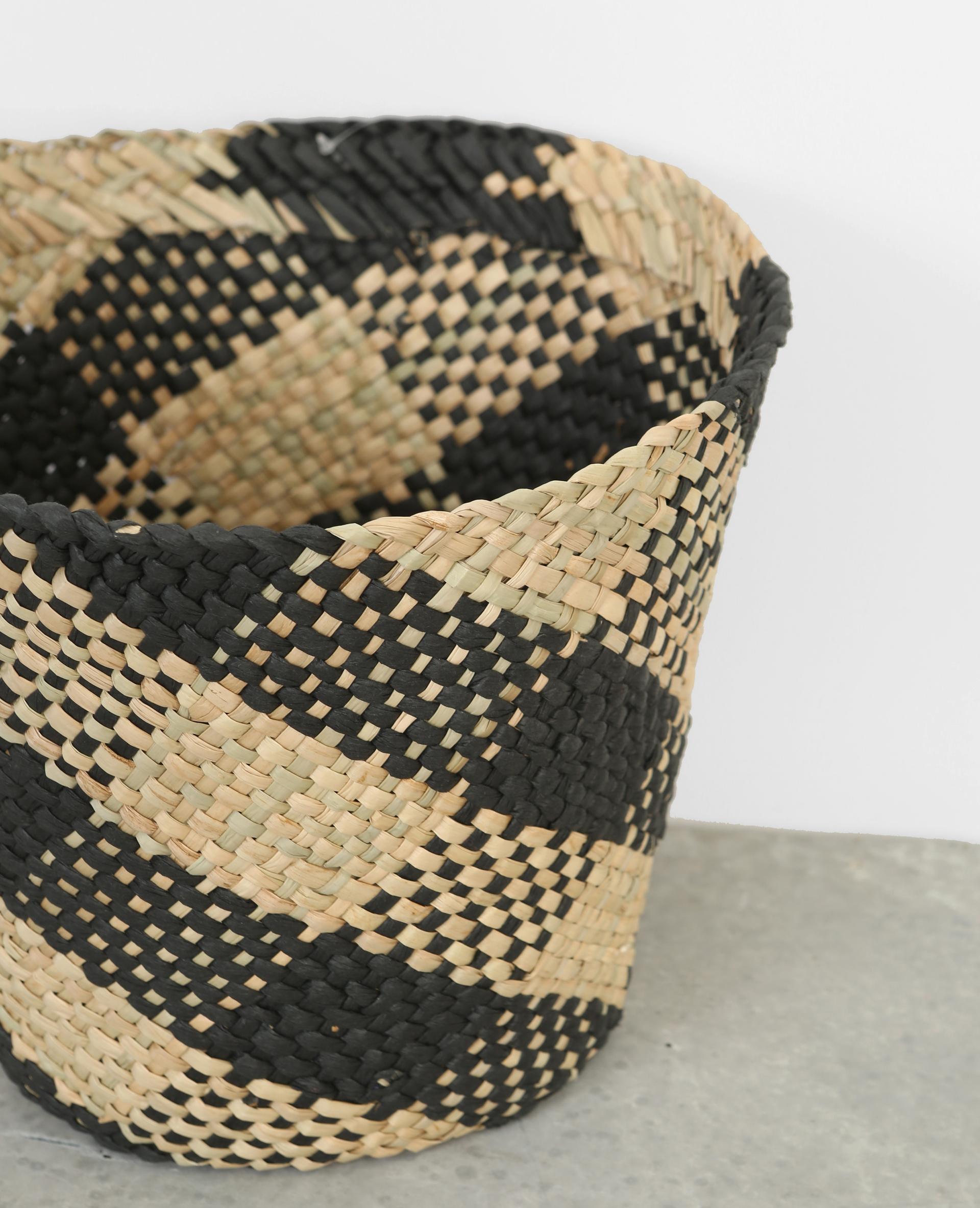 cache pot en paille tress e beige 902758899k07 pimkie. Black Bedroom Furniture Sets. Home Design Ideas
