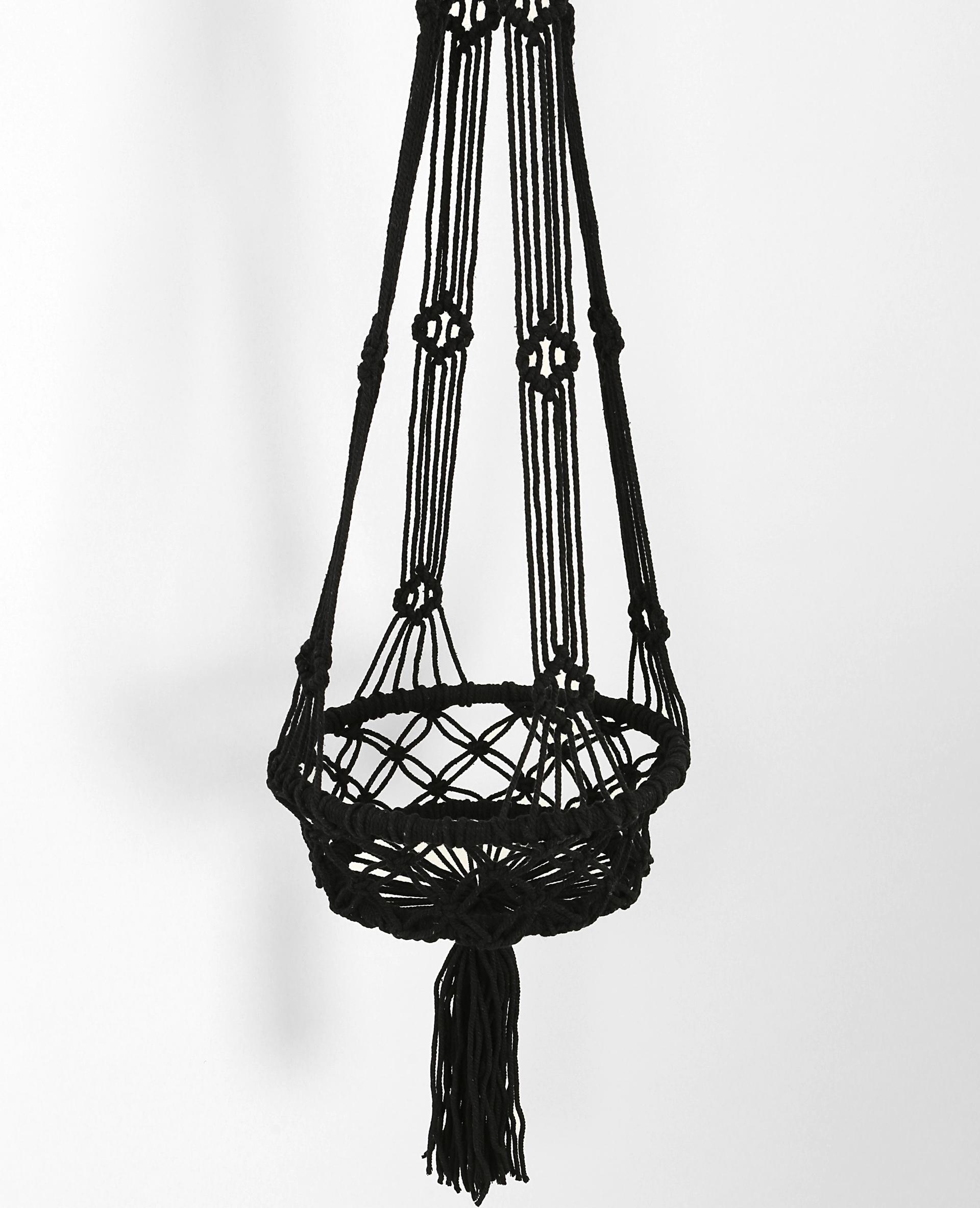 suspension macram noir 902288899a07 pimkie. Black Bedroom Furniture Sets. Home Design Ideas