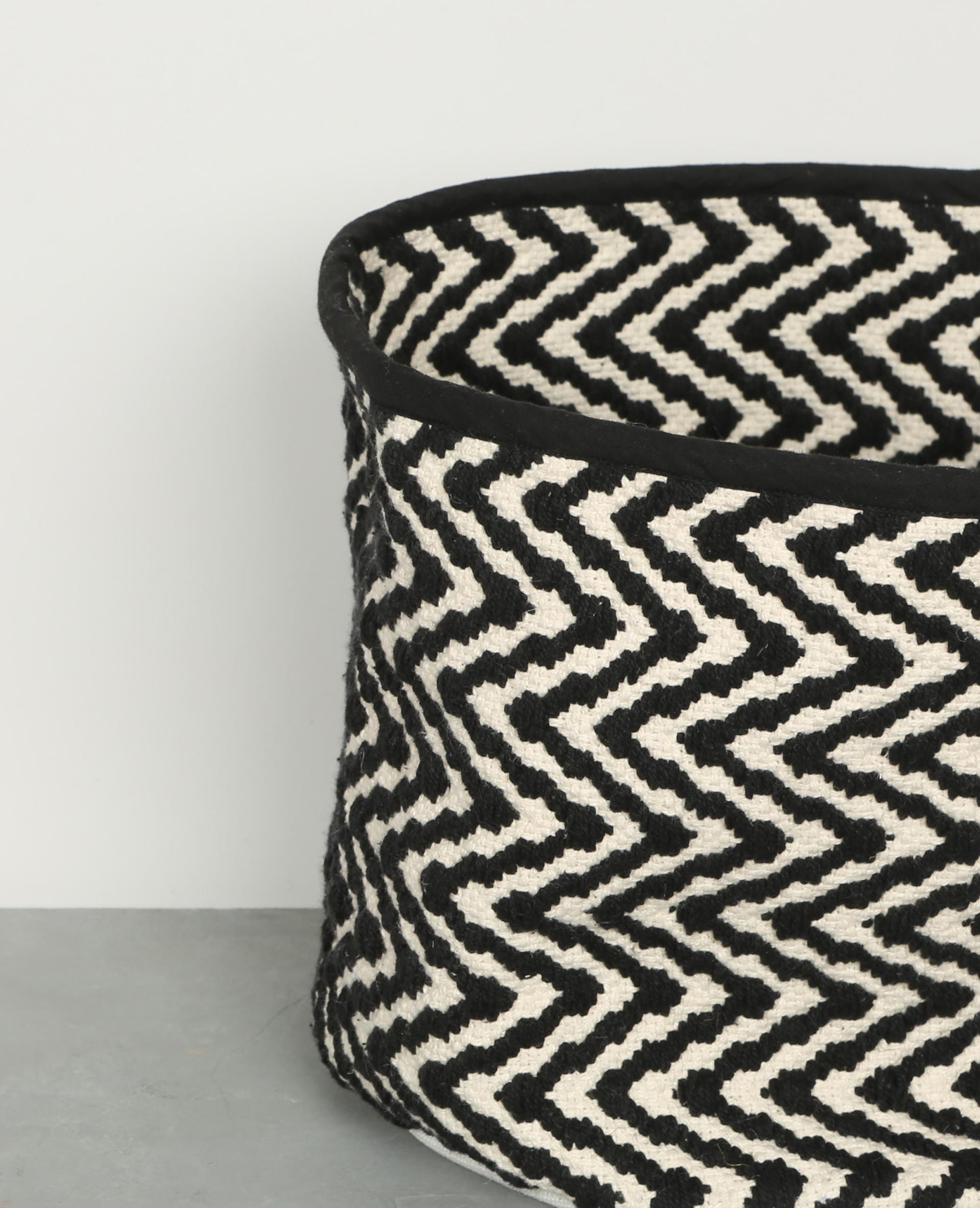 panier graphique en jute beige 955069e03h48 pimkie. Black Bedroom Furniture Sets. Home Design Ideas