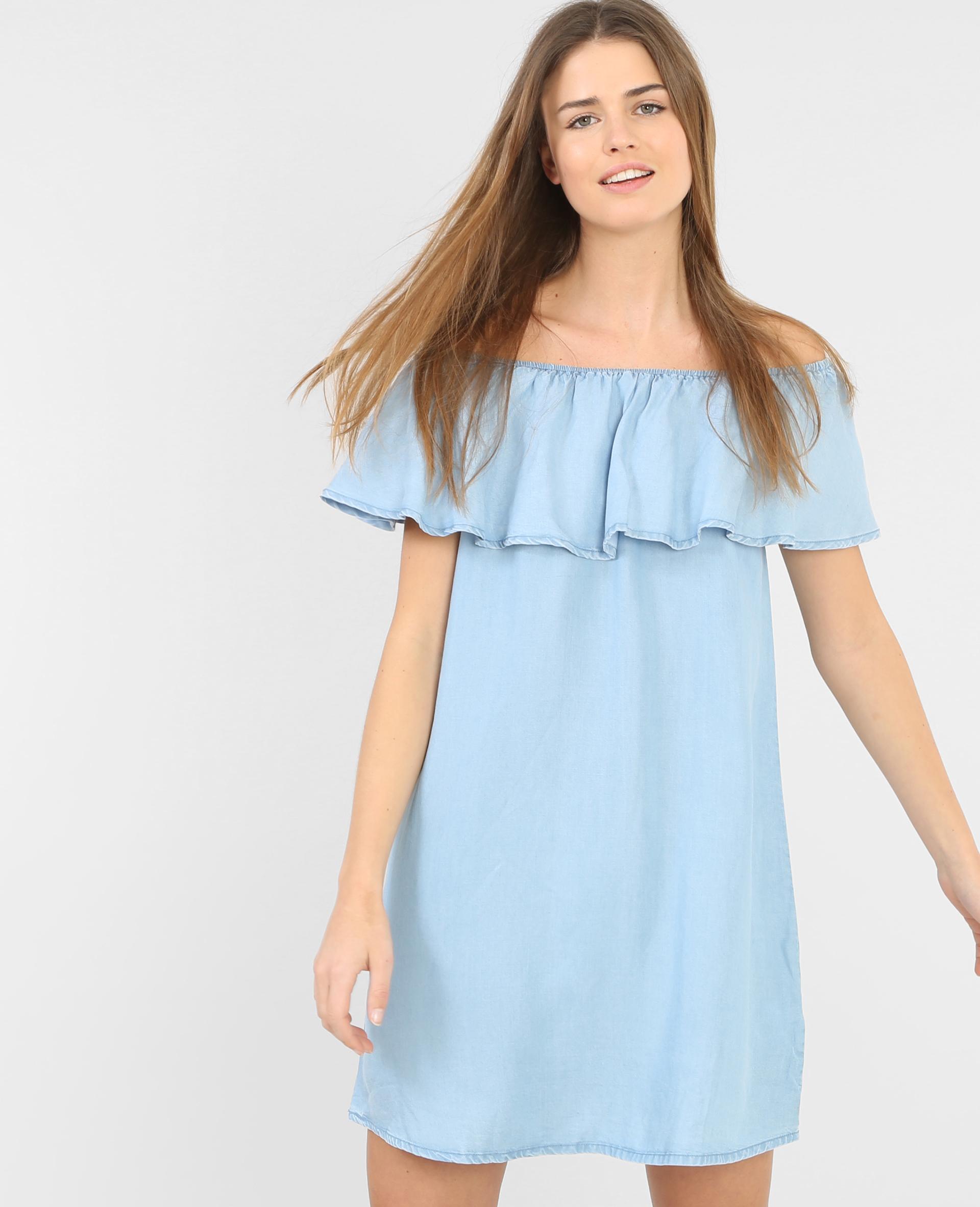Robe bleu roi pimkie