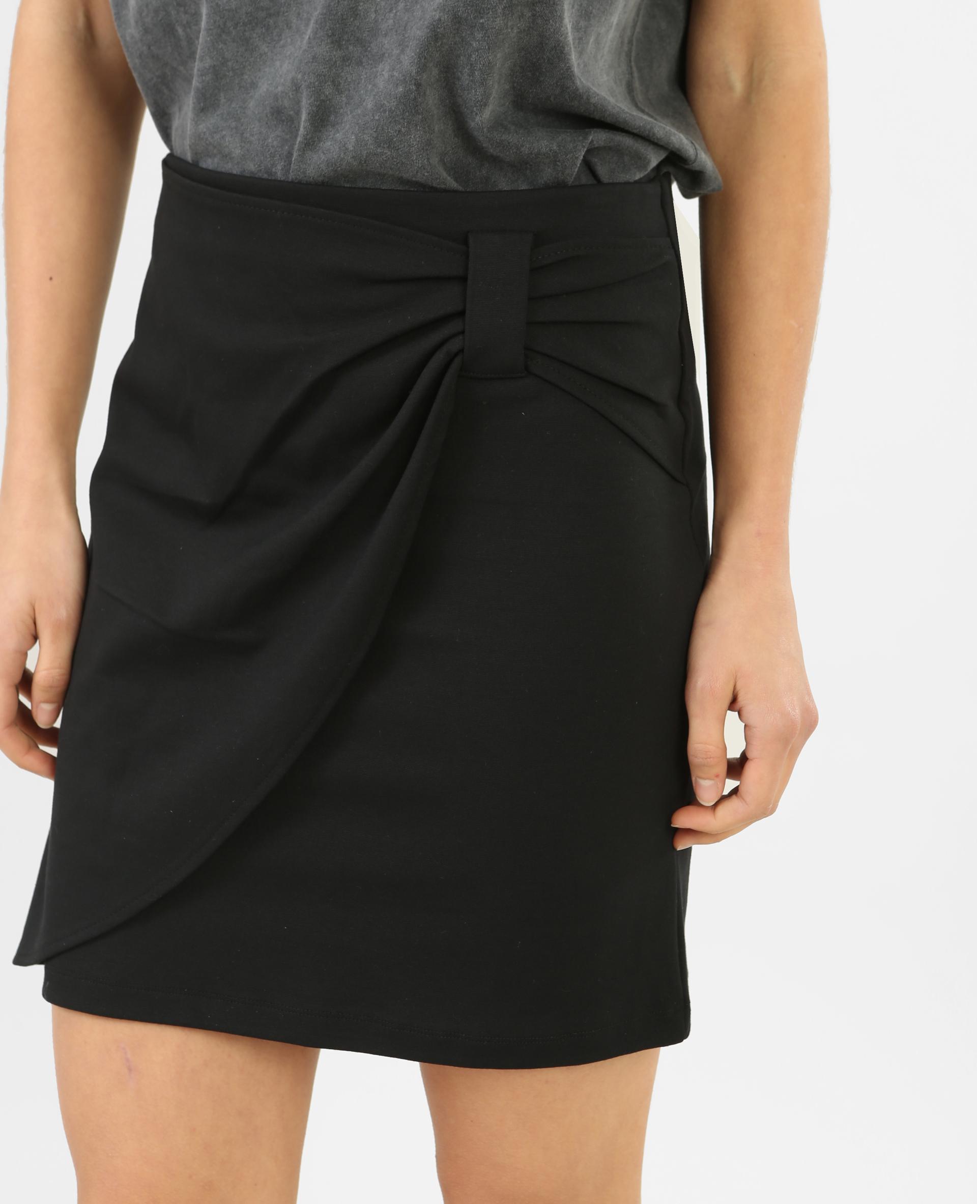 jupe tube effet drap noir 690328899a08 pimkie. Black Bedroom Furniture Sets. Home Design Ideas