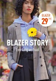 BLAZER STORY Een lang verhaal