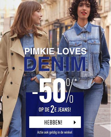 -50%* op de 2e jeans!