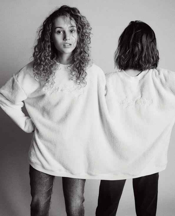 Duosweater lichtblauw - Pimkie