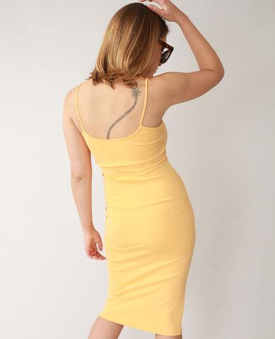 Strakke jurk oranje - Pimkie