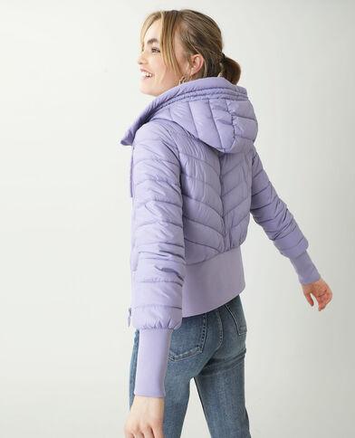 Donsjas met kap violet