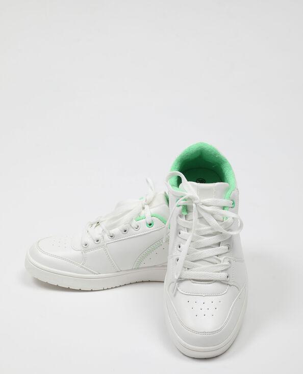 Baskets met veters wit - Pimkie