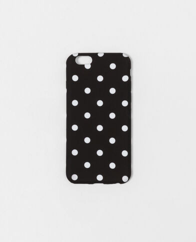 Coque souple compatible iPhone 6/6S noir