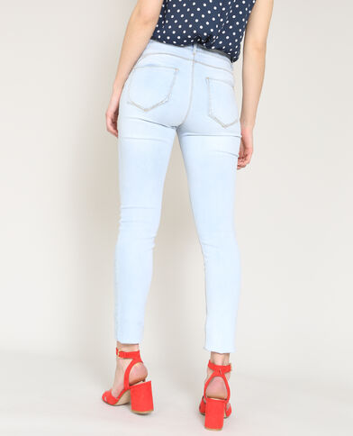 Push-up jeans Lichtblauw