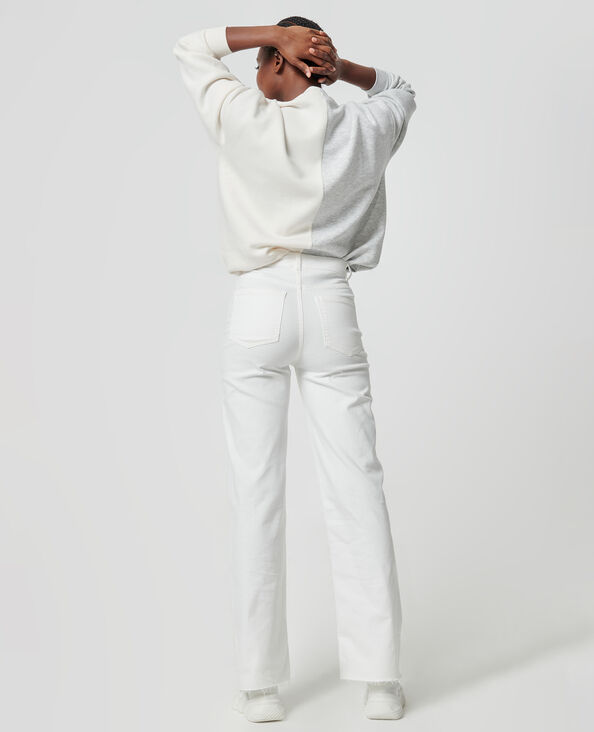 Rechte jeans ecru - Pimkie