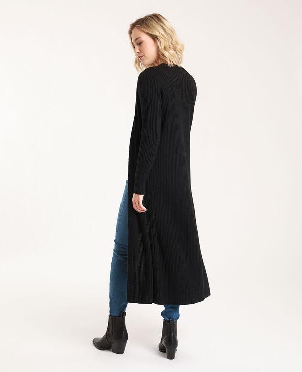 Lang vest zwart