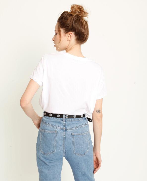 T-shirt Ciao Ciao blanc